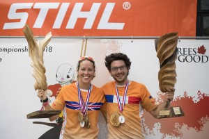 2018 ETCC Champions Josephine Hedger and Romain Chignardet